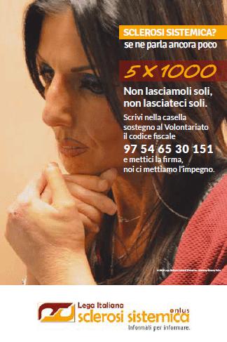 5x1000 Lega Italiana Sclerosi Sistemica